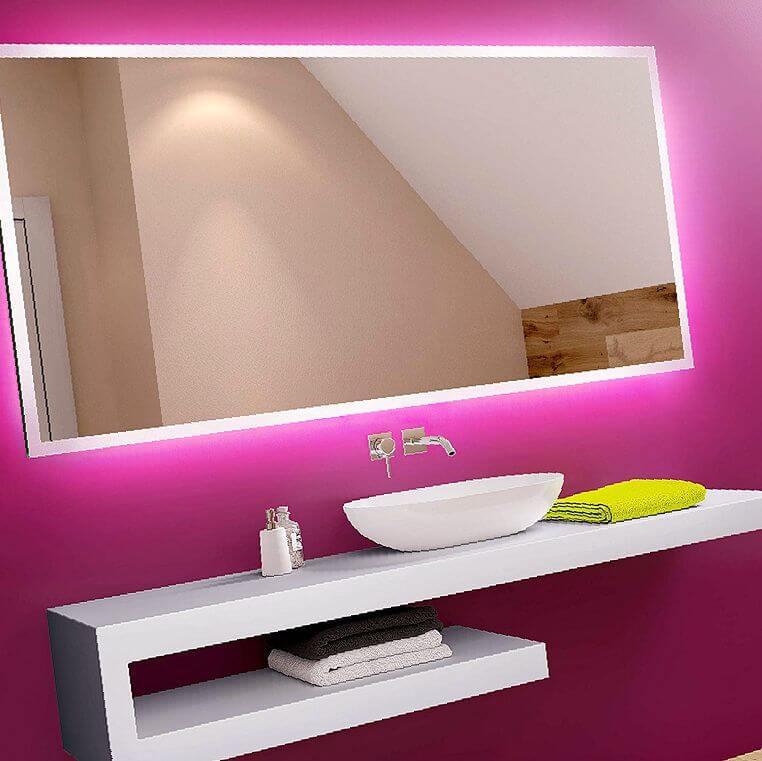 espejo decorativo baño