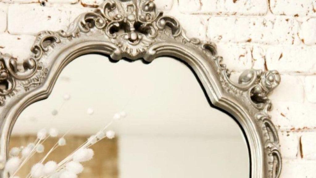 espejo pared antiguo
