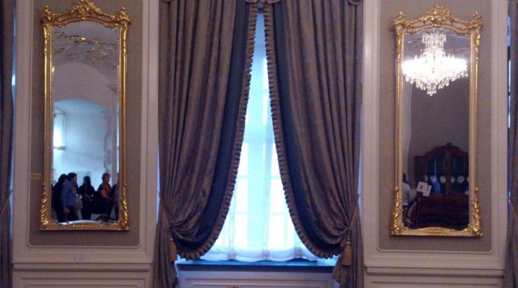 espejo pared historia europea