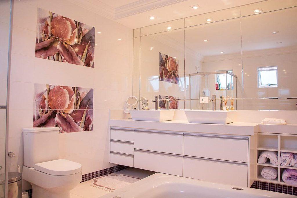 espejos baños bonitos
