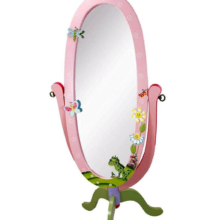 espejo pie infantil
