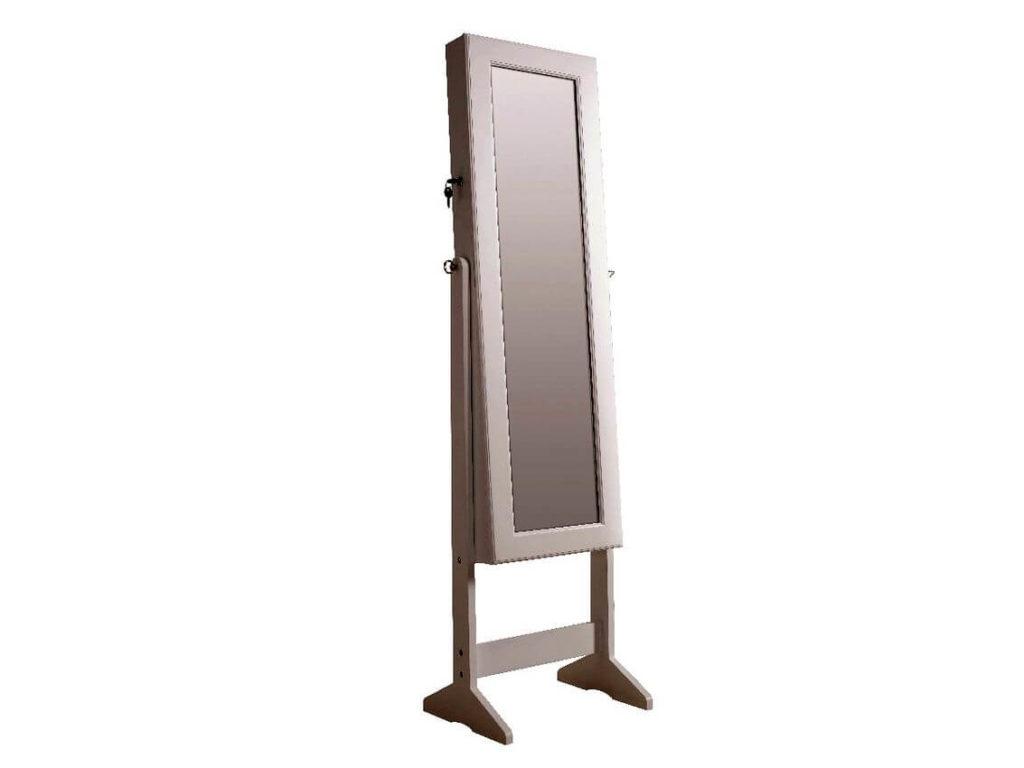 espejo pie rectangular