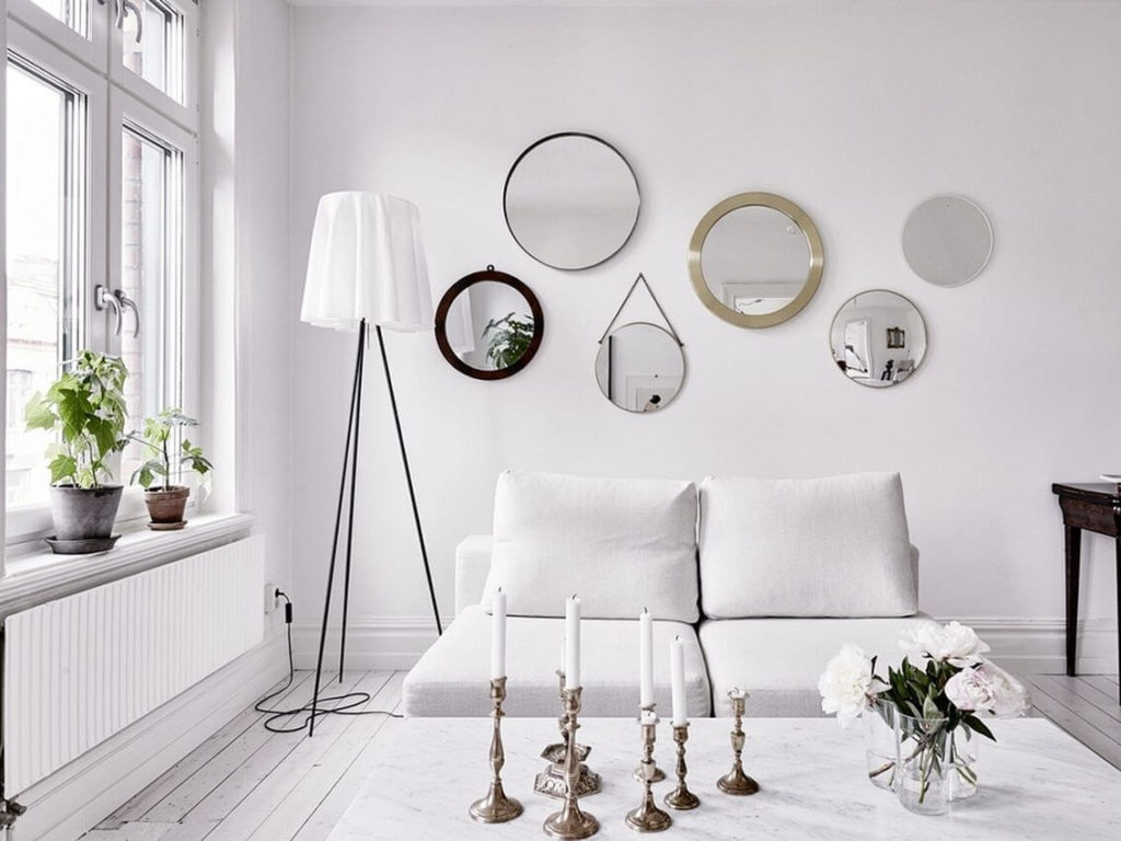 espejos redondos decorativos