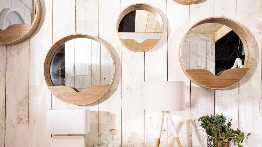 espejos redondos feng shui
