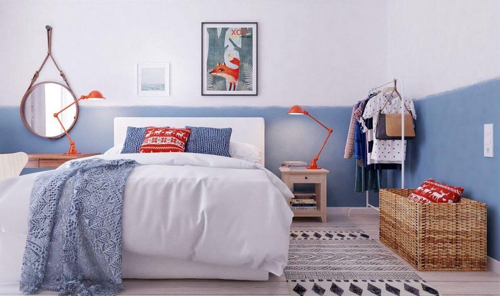 espejos redondos habitacion dormitorio