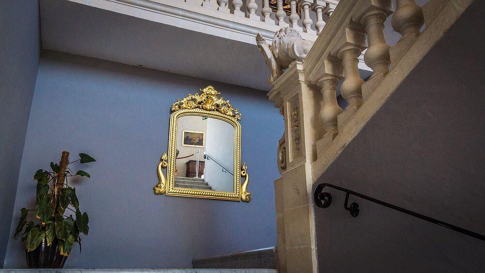 limpiar espejo antiguo bronce