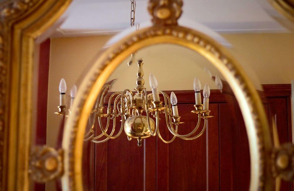 marco antiguo espejos grandes