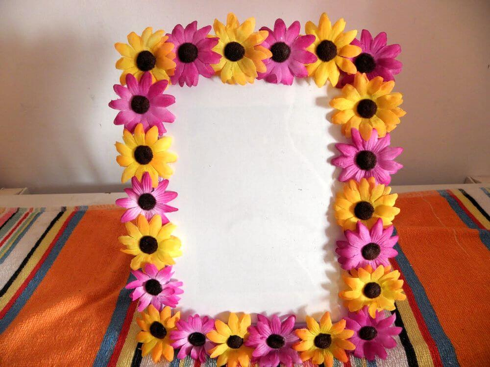 marco espejo flores
