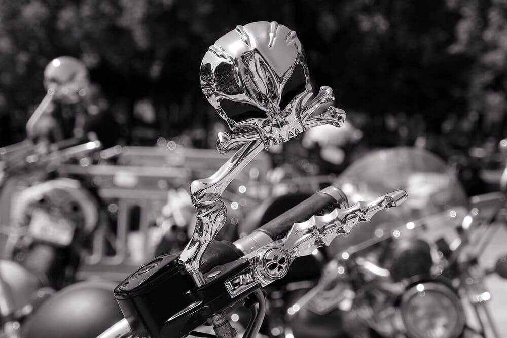 tipos espejos moto